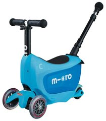 Самокат Micro Mini2go Blue Deluxe Plus